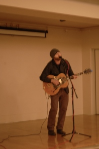 UW MFA alum Jason Burge sang some most tender songs.