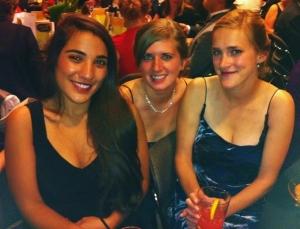 Auesta Safi, Erica Wood, and Olivia Wall.