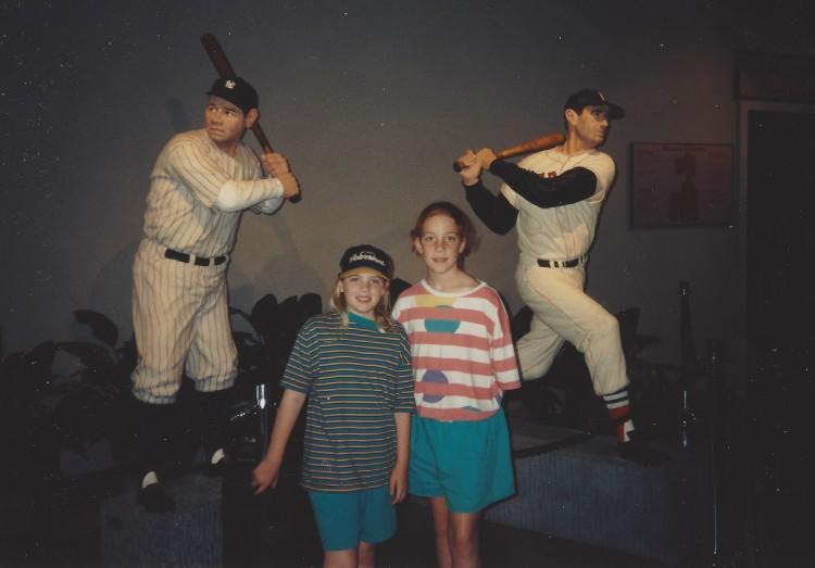 A and E at Baseball Hall of Fame